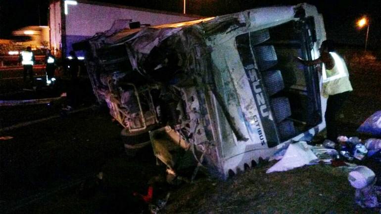 Korkunç kaza: 31 yaralı