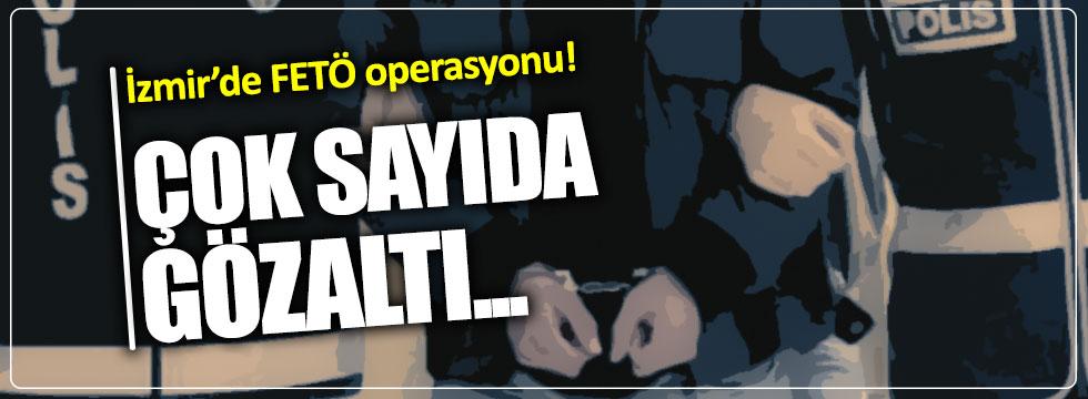 İzmir adliyesinde büyük FETÖ operasyonu