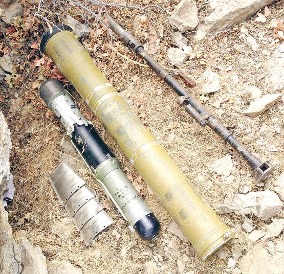 PKK'da 'menşei belirsiz' füze var