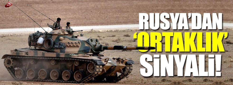 Rusya'dan Türkiye'yle ortak operasyon sinyali