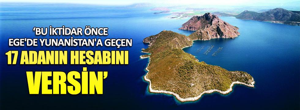 Emekli Albay: Bu iktidar önce 17 adanın hesabını versin