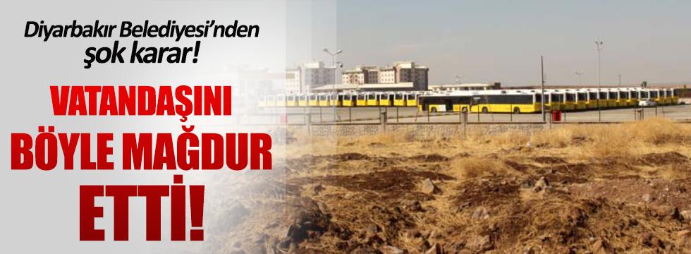 Diyarbakır'da DBP'li belediye vatandaşı mağdur etti