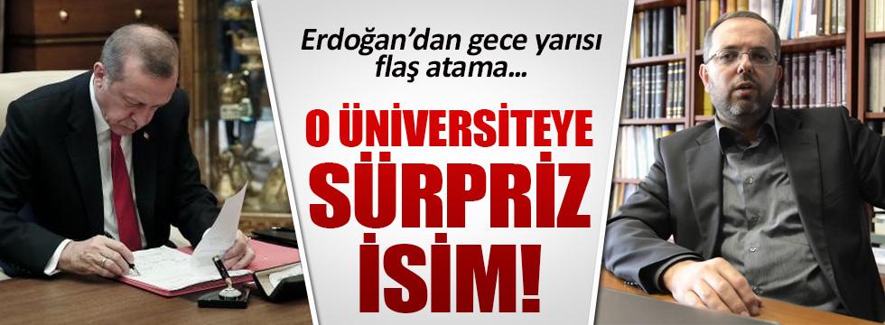 Erhan Afyoncu Milli Savunma Üniversitesi Rektörlüğüne atandı
