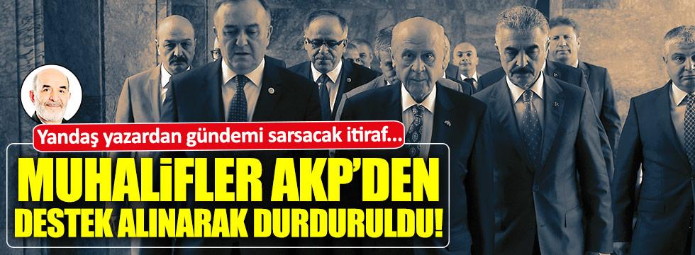 Yandaş Taşgetiren'den tarihi MHP itirafı