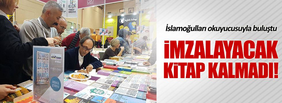 İslamoğulları'nın imza gününe büyük ilgi