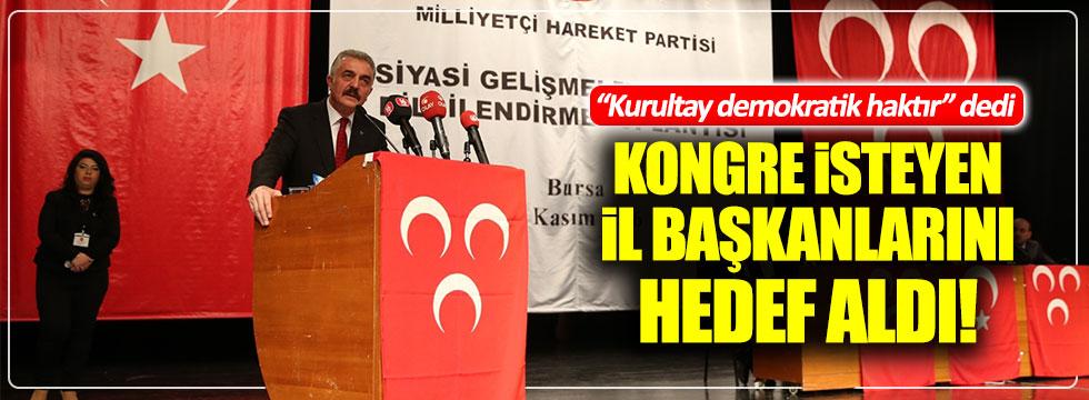"""İsmet Büyükataman: """"Kurultay demokratik bir haktır"""""""