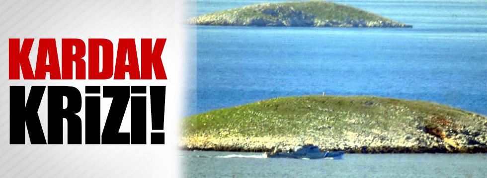 Yunanistan'a 'Kardak' yanıtı