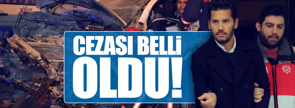 Rüzgar Çetin'in cezası belli oldu