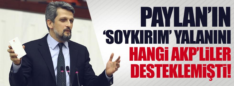 Sözde 'soykırım'ı hangi AKP'liler desteklemişti?