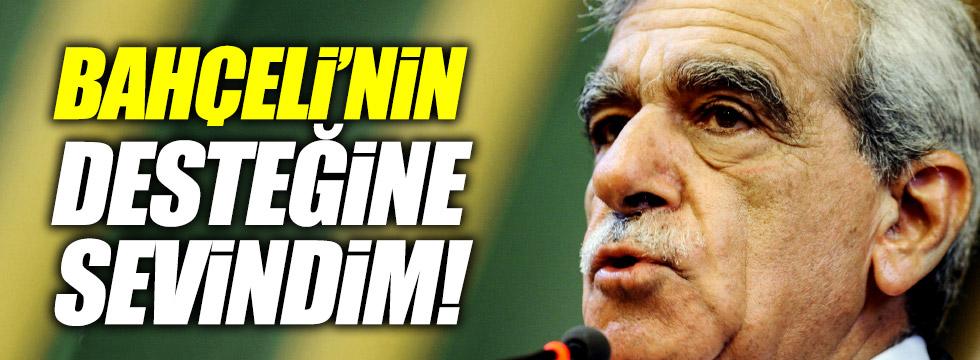 Ahmet Türk: Bahçeli'nin desteğine sevindim