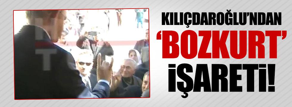 Kılıçdaroğlu'ndan 'bozkurt' işareti