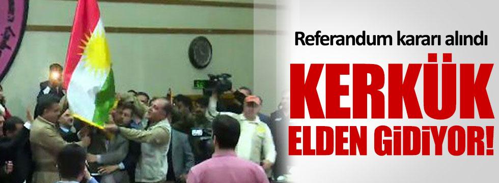 Kerkük için referandum kararı