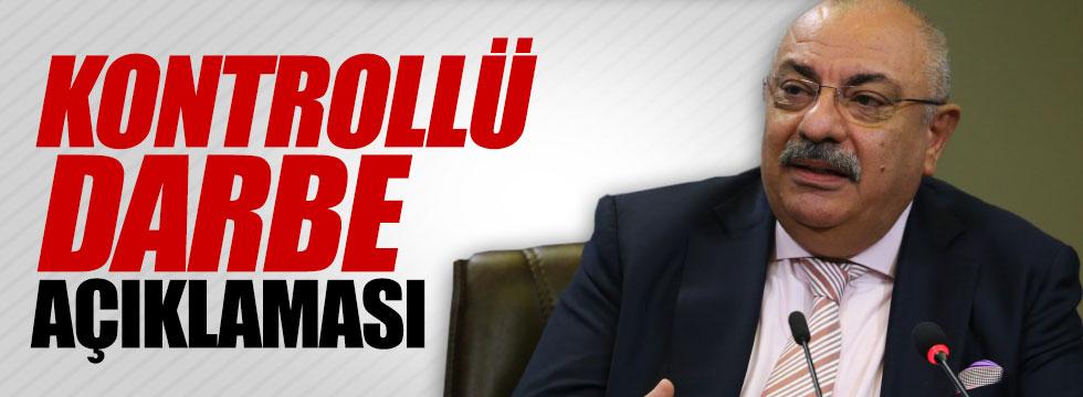 """Türkeş'ten """"Kontrollü darbe açıklaması"""""""
