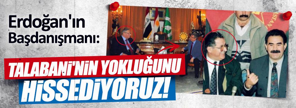 Cumhurbaşkanı Başdanışmanı Talabani'yi ziyaret etti