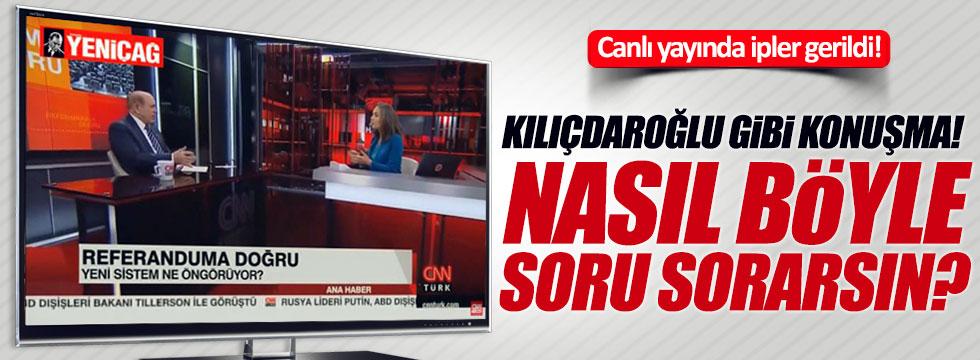 AKP'li Kuzu ve Nevşin Mengü canlı yayında tartıştı