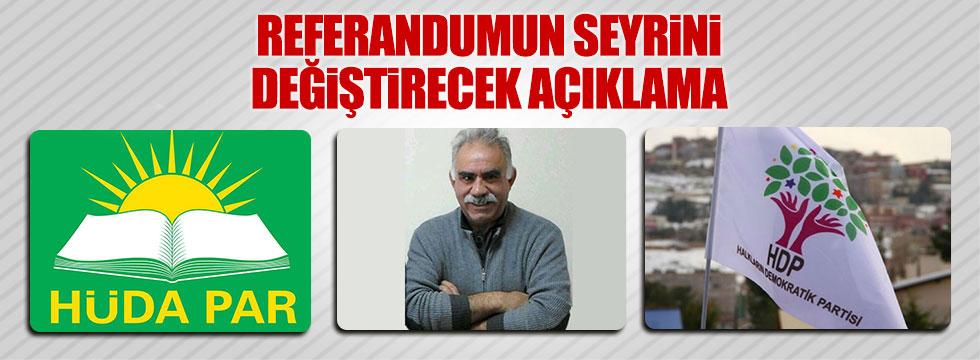 HDP, PKK ve Hüda-Par referandumda 'evet' diyor!