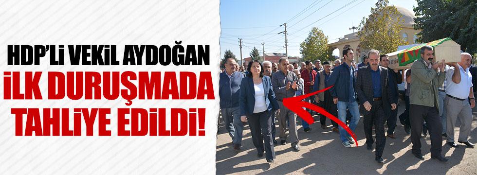 HDP'li Nursel Aydoğan ilk duruşmada tahliye edildi