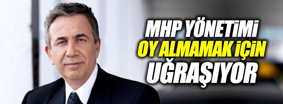 """Mansur Yavaş: """"MHP yönetimi oy almamak için uğraşıyor"""""""