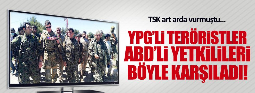 ABD, YPG'lilere böyle sahip çıktı