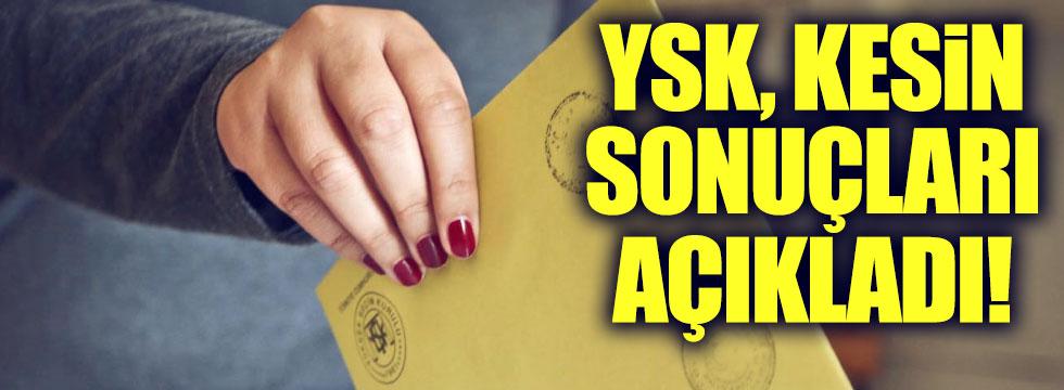 YSK, ret kararının gerekçesini açıkladı