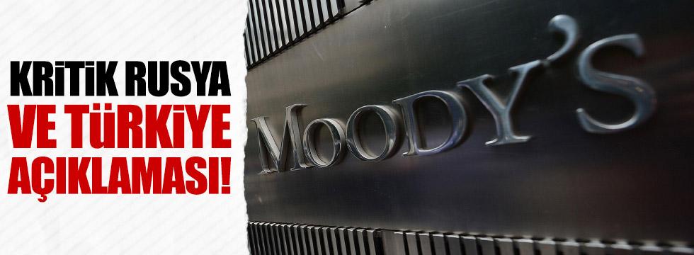 Moody's Türkiye ve Rusya açıklaması