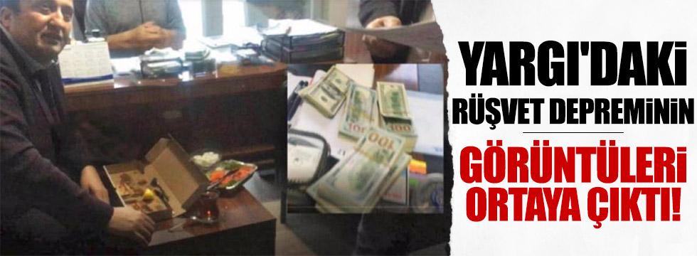 Yargı'da rüşvetin görüntüleri ortaya çıktı