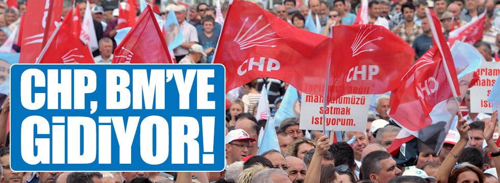 CHP, referandum sonucunu BM'ye de taşıyacak