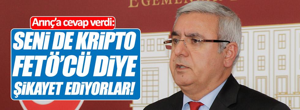 Metiner: Seni de kripto FETÖ'cü diye şikayet ediyorlar!
