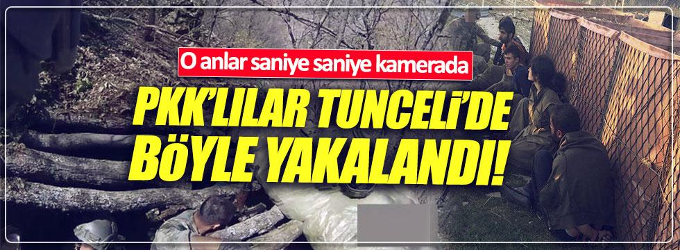PKK'lıların teslim olma görüntüleri saniye saniye kamerada