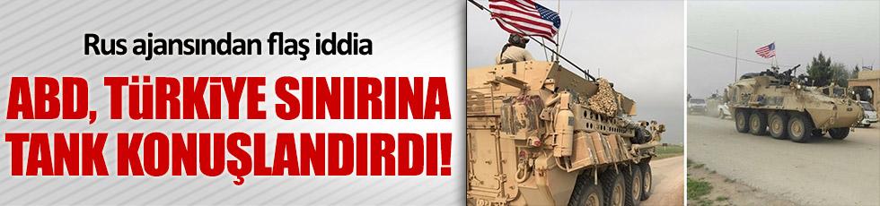 ABD ordusu Türkiye sınırına zırhlı araç konuşlandırdı iddiası
