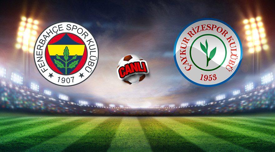 İlk 11'ler açıklandı! Fenerbahçe'de sürpriz