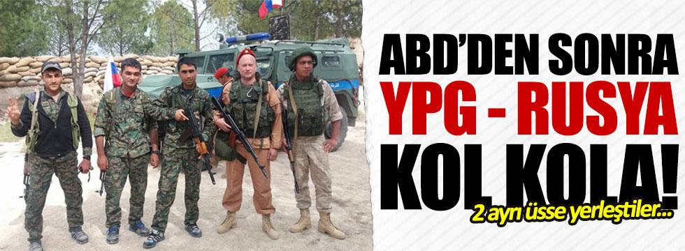 YPG - Rusya kol kola!