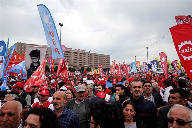 1 Mayıs gözaltısı: 165 kişi!