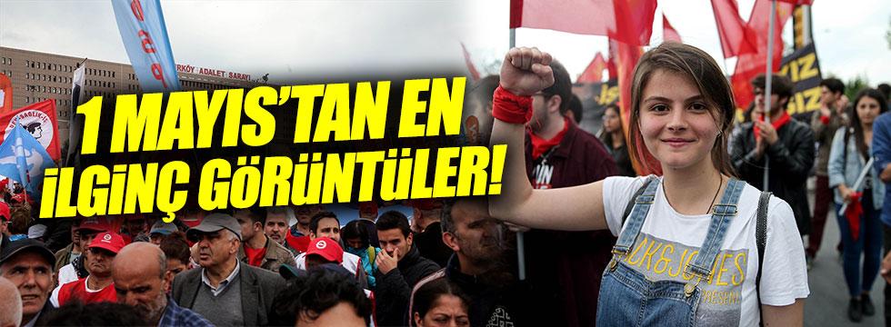 1 Mayıs İstanbul'da bu görüntülerle kutlandı