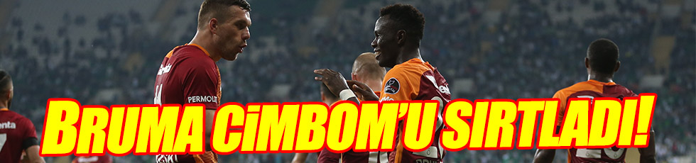 Bursaspor 0-5 Galatasaray / Maç Özeti