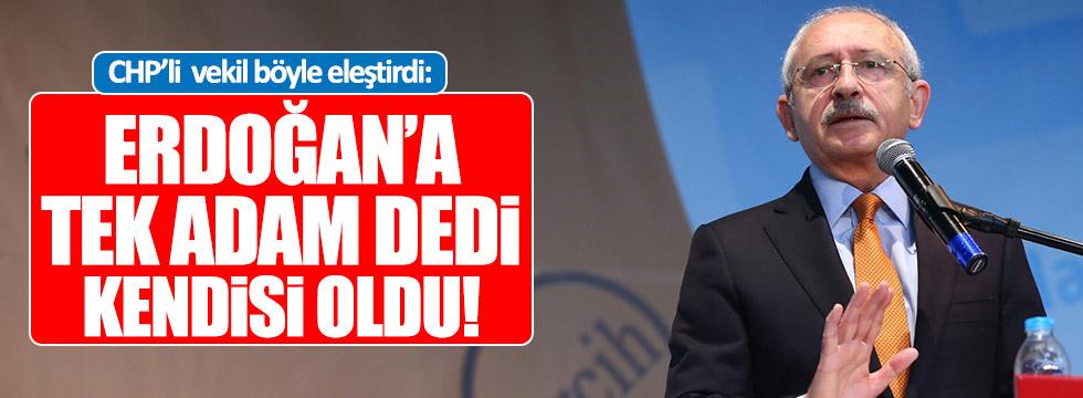 Sağlar: Erdoğan'a tek adam dedi, kendisi tek adam oldu!