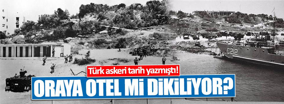 Mehmetçiğin tarih yazdığı yer otel mi olacak?