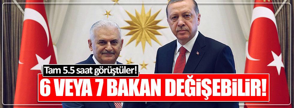 Erdoğan ile Binali Yıldırım Beştepe'de görüştü