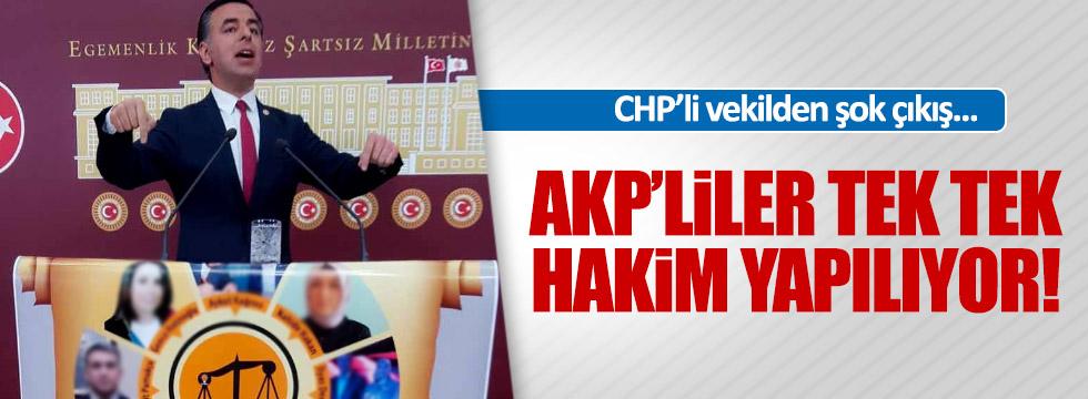 """CHP'li Yarkadaş: """"AKP üyeleri hakim olarak atanıyor"""""""