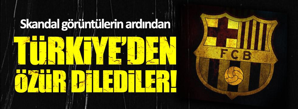 Barcelona Türkiye'den özür diledi!