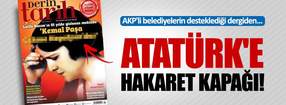 Atatürk düşmanı Armağan'dan skandal kapak