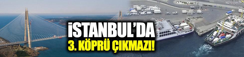 İstanbul'da 3. Köprü çıkmazı