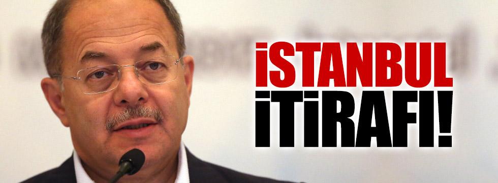 Bakan Akdağ'dan İstanbul itirafı