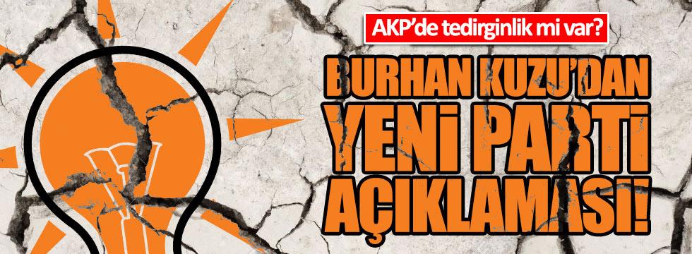 AKP'de 'yeni parti' telaşı