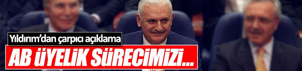 Başbakan Yıldırım'dan AB açıklaması