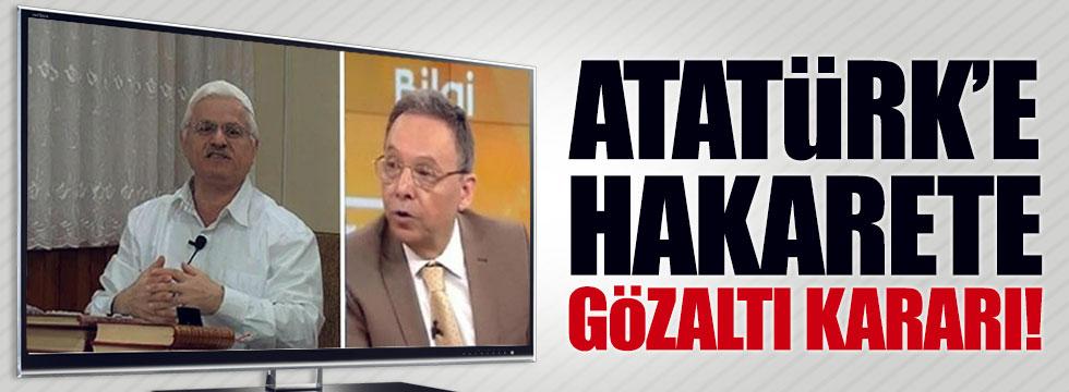 Atatürk'e hakaret eden Yeşilyurt ve Akar'a gözaltı kararı!