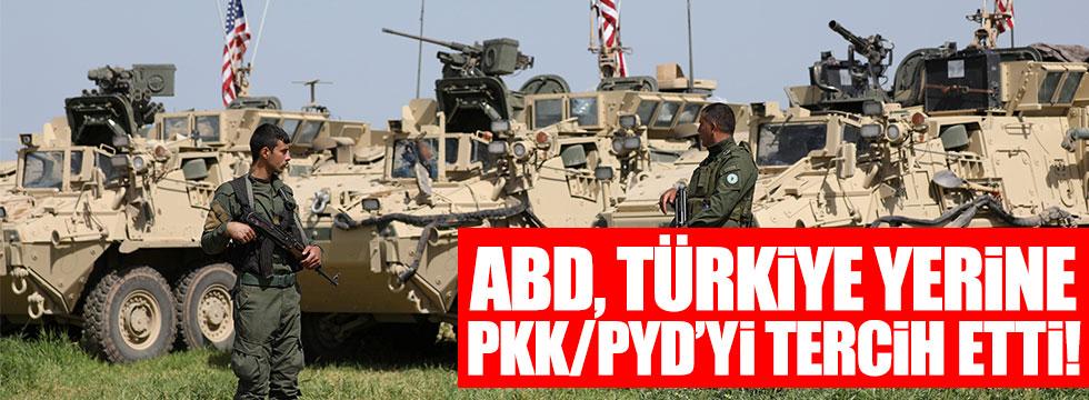 ABD, Türkiye yerine PKK/PYD'yi tercih etti!