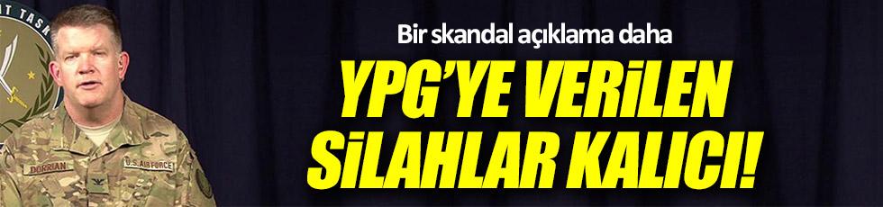 ABD: YPG'ye verilen silahlar geri alınmayacak