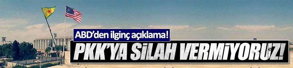 """ABD: """"PKK'ya silah vermiyoruz"""""""