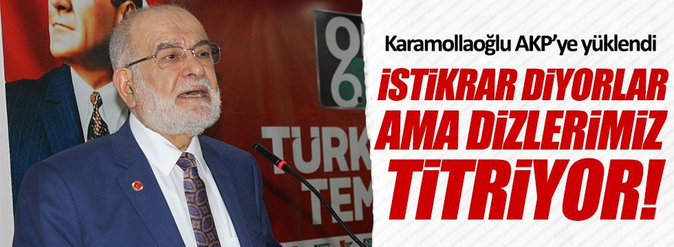 Saadet Partisi lideri Karamollaoğlu'ndan hükümete eleştiri